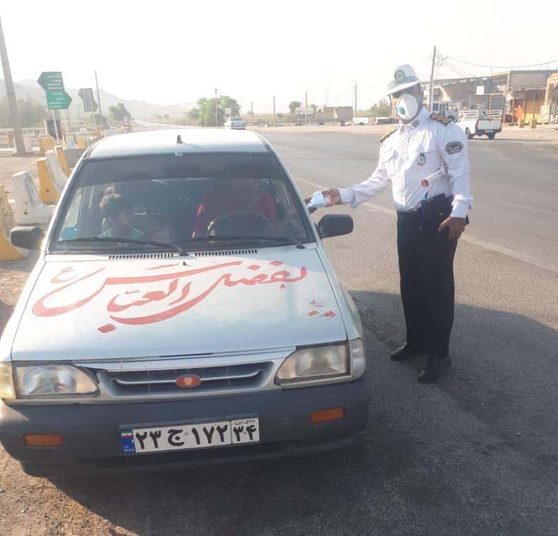 پلیس راه امیدیه_ دیلم همه رانندگان را به خط کرد