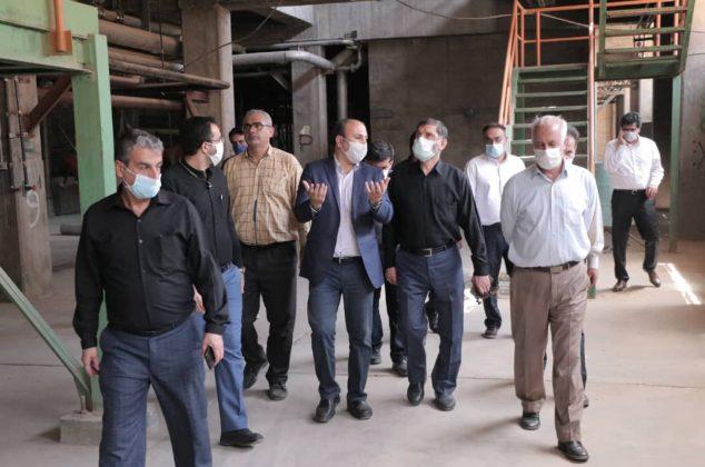 کارخانه ای که پس از ۲۳ سال راه اندازی می شود