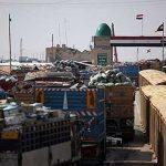 محدودیت صادرات کالا از مرز شلمچه برداشته شد