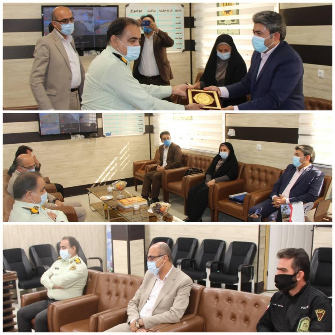 معاون فرماندار ماهشهر از نیروی انتظامی تقدیر کرد