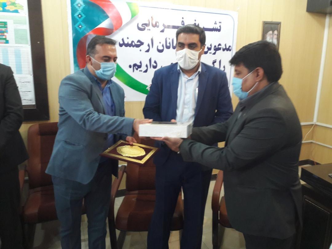 مراسم تودیع و معارفه مدیر شبکه بهداشت و درمان شهرستان رامشیر برگزار شد