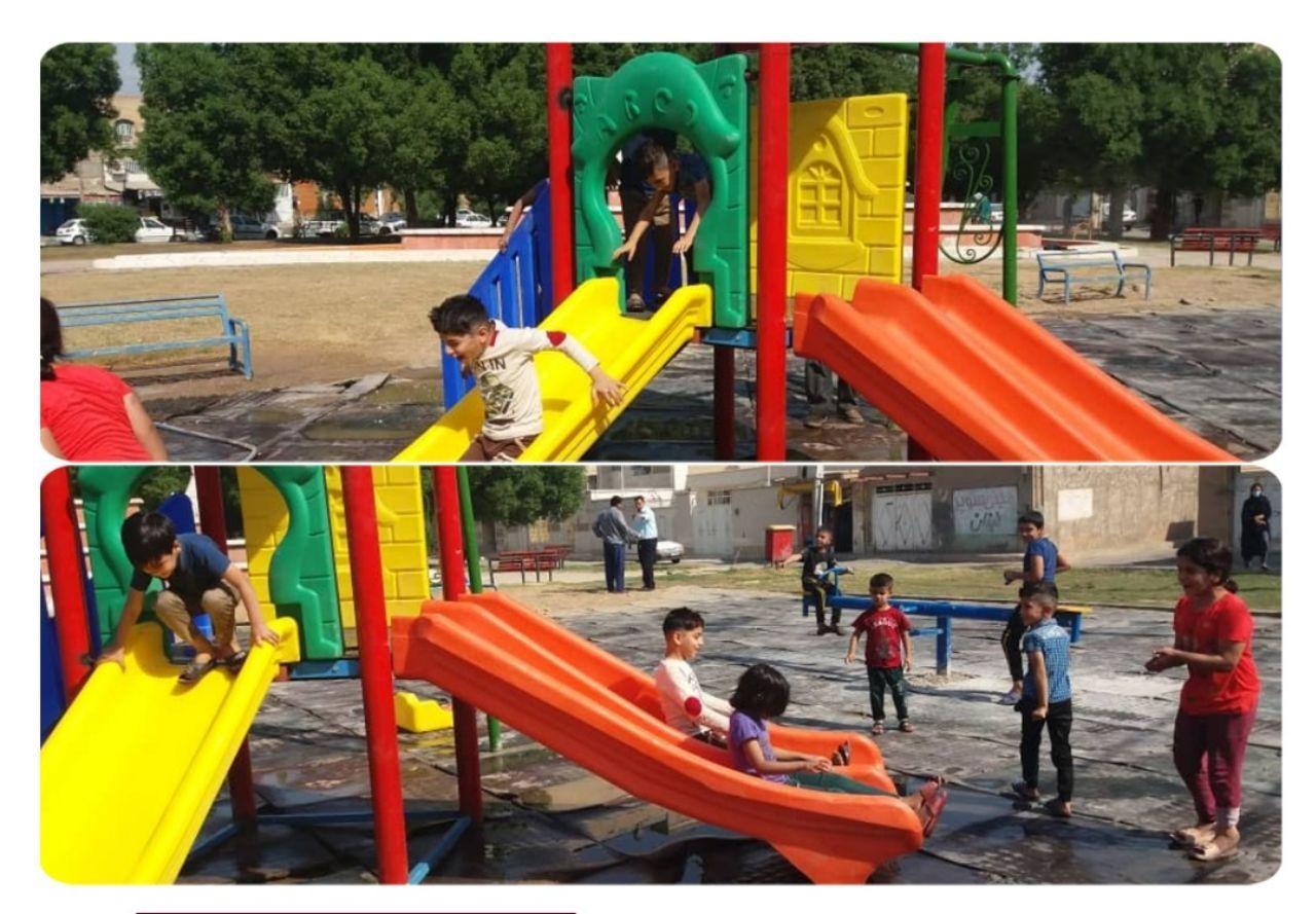 حاتمی مدیر منطقه ۷ خبر داد: وسایل ایمن جهت بازی کودکان در پارک ناز نصب شد