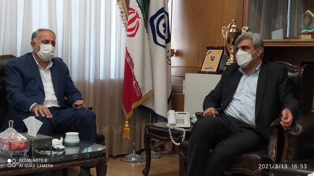 نماینده رامهرمز و رامشیر با مدیر عامل سازمان تأمین اجتماعی کشور دیدار کرد