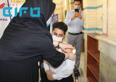 خبرنگاران شوش واکسینه شدند
